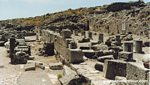Ancient Thira in Santorini